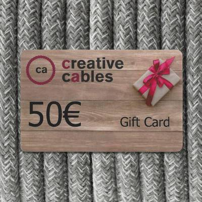 Gift card, Buono Regalo Creative-Cables 50 Euro