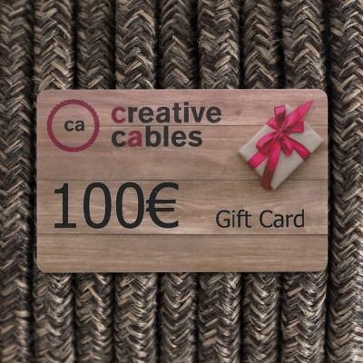 Gift card, Buono Regalo Creative-Cables 100 Euro