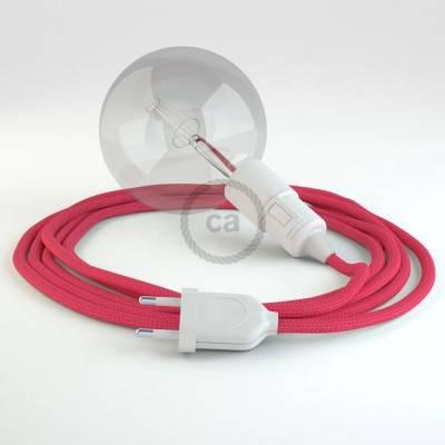 Configura il tuo Snake Effetto Seta Fucsia RM08 e porta la luce dove vuoi tu.
