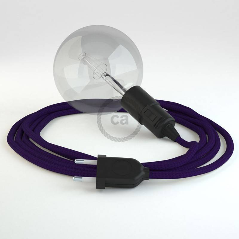 Configura il tuo Snake Effetto Seta Viola RM14 e porta la luce dove vuoi tu.