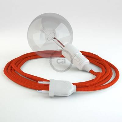 Configura il tuo Snake Effetto Seta Arancione RM15 e porta la luce dove vuoi tu.