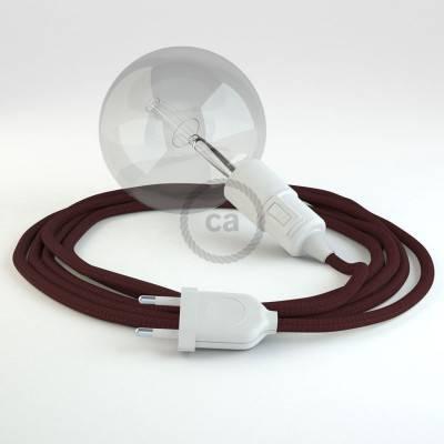 Configura il tuo Snake Effetto Seta Bordeaux RM19 e porta la luce dove vuoi tu.