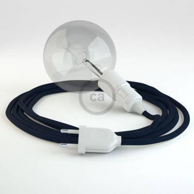 Configura il tuo Snake Effetto Seta Blu Scuro RM20 e porta la luce dove vuoi tu.