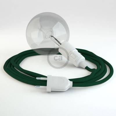 Configura il tuo Snake Effetto Seta Verde scuro RM21 e porta la luce dove vuoi tu.