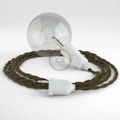 Configura il tuo Snake Cotone Marrone TC13 e porta la luce dove vuoi tu.