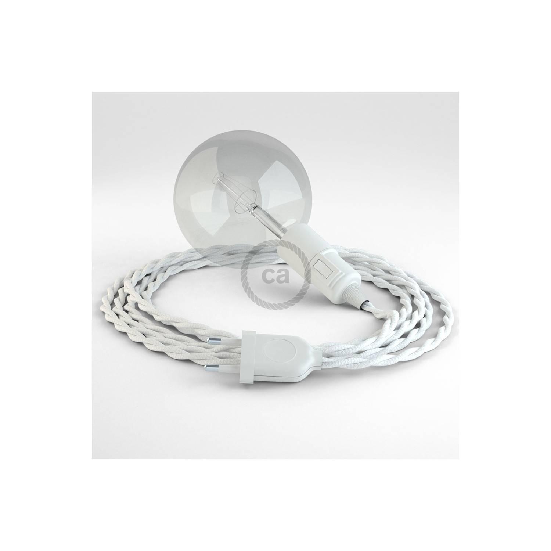 Configura il tuo Snake Effetto Seta Bianco TM01 e porta la luce dove vuoi tu.