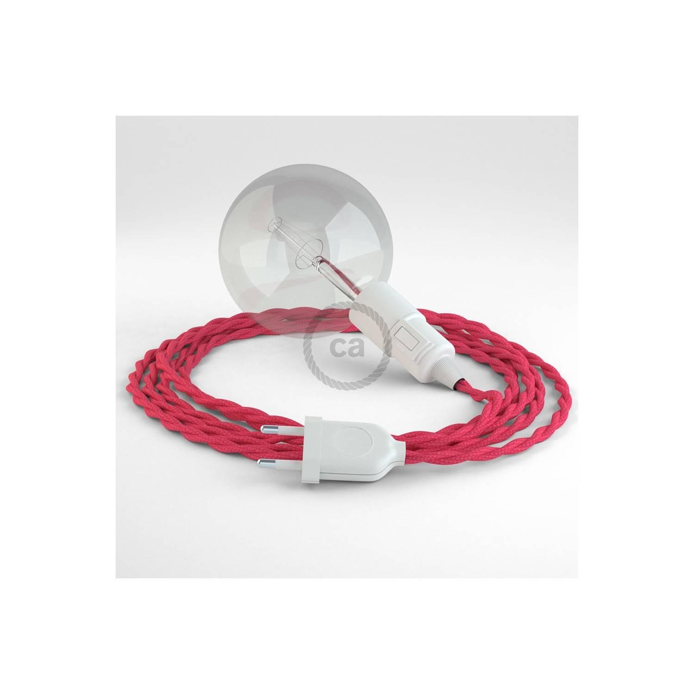 Configura il tuo Snake Effetto Seta Fucsia TM08 e porta la luce dove vuoi tu.