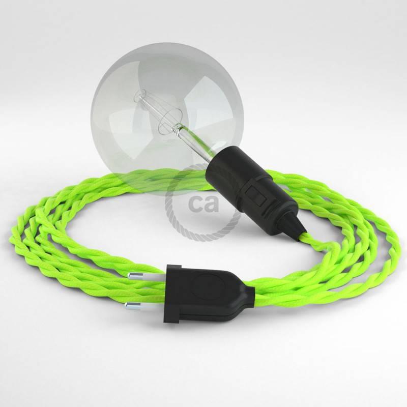 Configura il tuo Snake Effetto Seta Giallo Fluo TF10 e porta la luce dove vuoi tu.