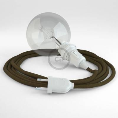 Configura il tuo Snake per paralume Cotone Marrone RC13 e porta la luce dove vuoi tu.