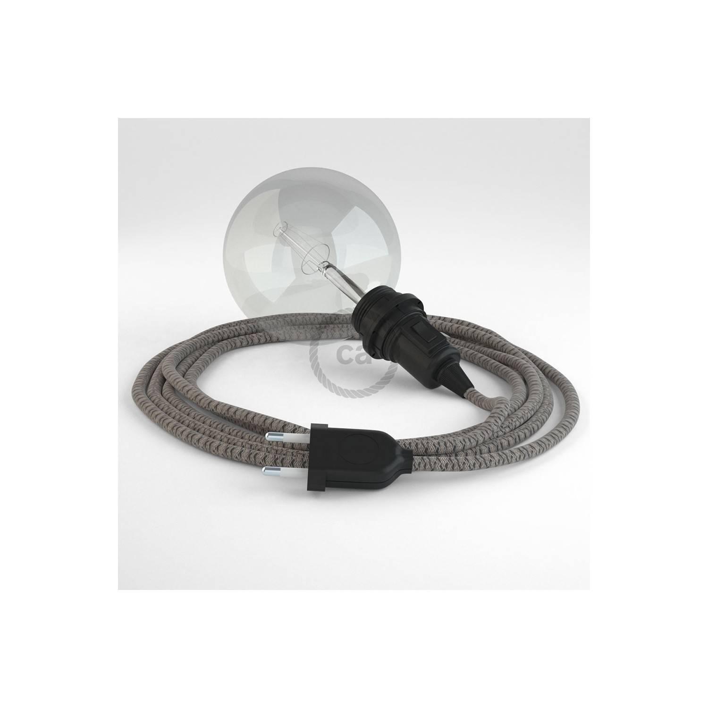 Configura il tuo Snake per paralume Losanga Antracite RD64 e porta la luce dove vuoi tu.