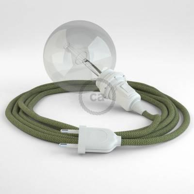 Configura il tuo Snake per paralume ZigZag Verde Timo RD72 e porta la luce dove vuoi tu.