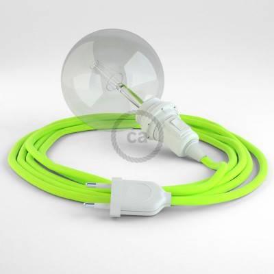 Configura il tuo Snake per paralume Giallo Fluo RF10 e porta la luce dove vuoi tu.