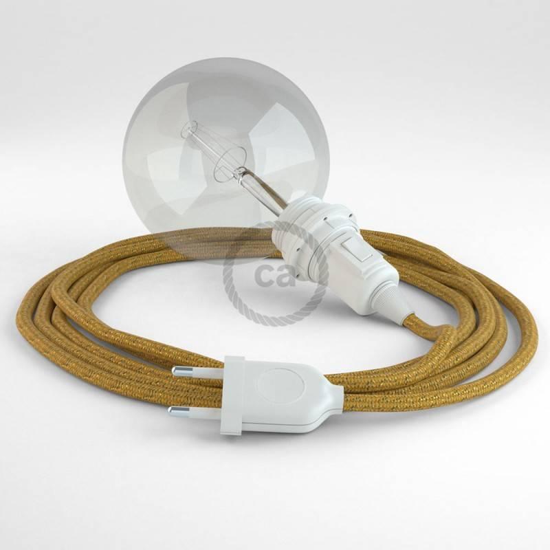 Configura il tuo Snake per paralume Glitterato Oro RL05 e porta la luce dove vuoi tu.