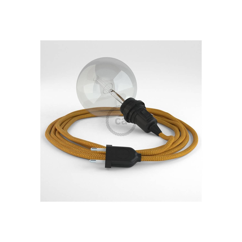 Configura il tuo Snake per paralume Effetto Seta Oro RM05 e porta la luce dove vuoi tu.