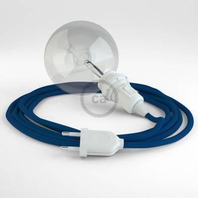 Configura il tuo Snake per paralume Effetto Seta Blu RM12 e porta la luce dove vuoi tu.