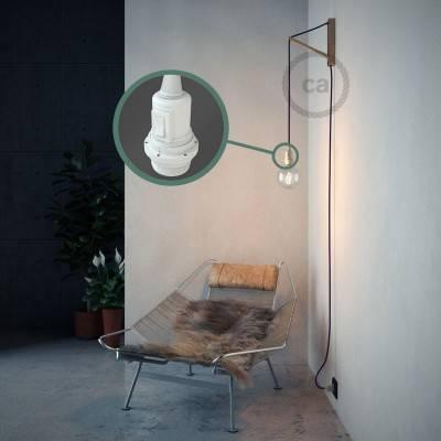 Configura il tuo Snake per paralume Effetto Seta Viola RM14 e porta la luce dove vuoi tu.