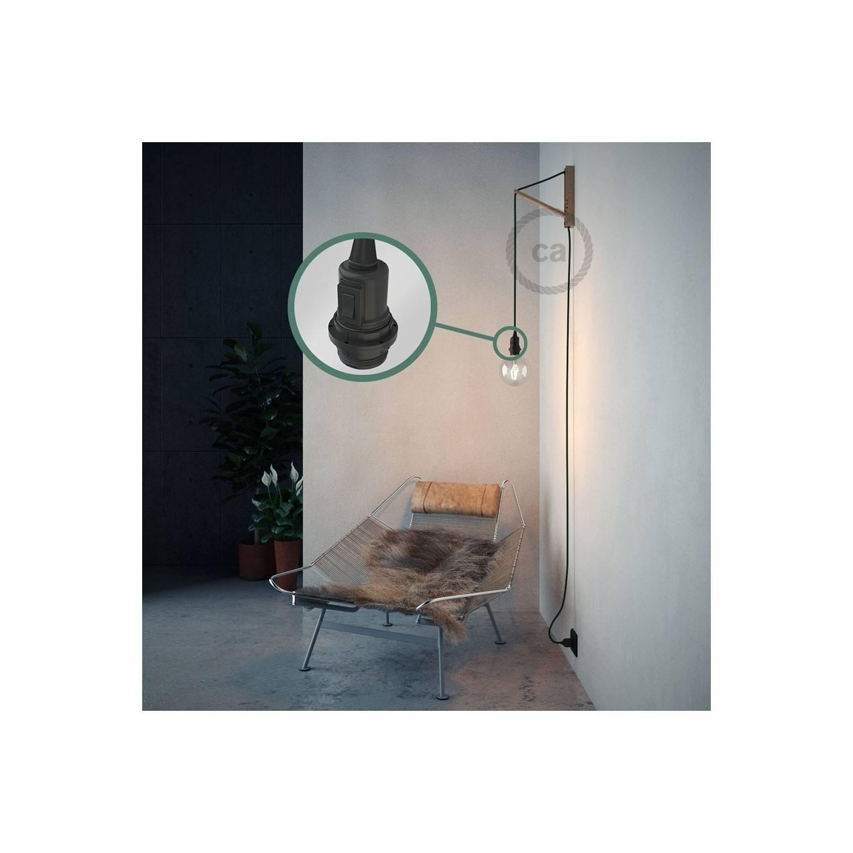 Configura il tuo Snake per paralume Effetto Seta Verde scuro RM21 e porta la luce dove vuoi tu.