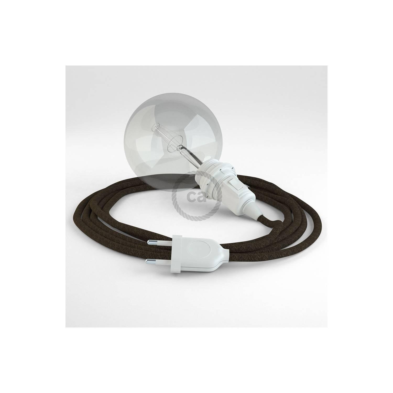 Configura il tuo Snake per paralume Lino Naturale Marrone RN04 e porta la luce dove vuoi tu.
