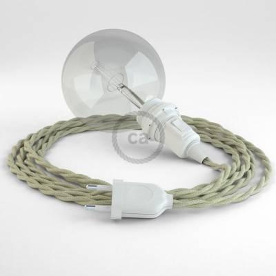 Configura il tuo Snake per paralume Cotone Tortora TC43 e porta la luce dove vuoi tu.