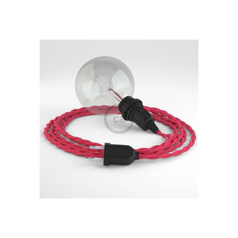Configura il tuo Snake per paralume Effetto Seta Fucsia TM08 e porta la luce dove vuoi tu.