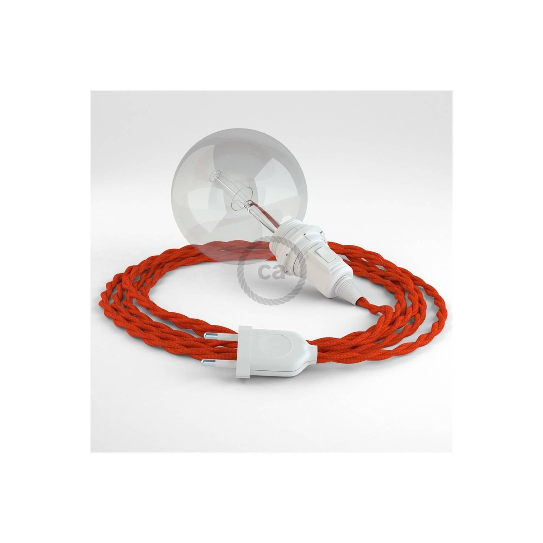 Configura il tuo Snake per paralume Effetto Seta Arancione TM15 e porta la luce dove vuoi tu.