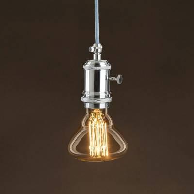 Lampadina Vintage Dorata BR95 Filamento di Carbonio a Gabbia 30W E27 Dimmerabile 2000K