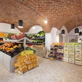 Arch. Pinuccio Marchelli: progetto per un negozio di frutta e verdura