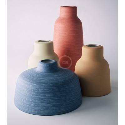 La nuova collezione di paralumi in ceramica Materia