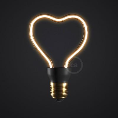 Lampadina LED Art Heart 8W E27 Dimmerabile 2200K