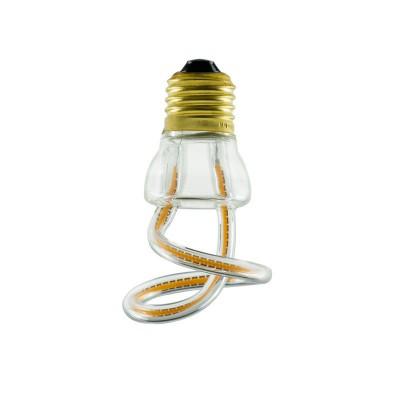 Lampadina LED Art Loop Curled 8W E27 Dimmerabile 2200K