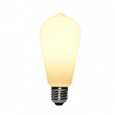 Lampadina LED Porcellana ST64 6W E27 Dimmerabile 2700K