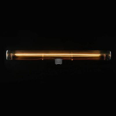 Lampadina LED lineare Smoky Grey S14d - lunghezza 300 mm 8W 2200K dimmerabile - per Sistema S14