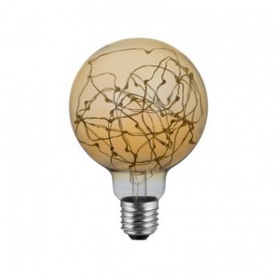 Lampadina LED Globo G95 - Milleluci Dorata 2W E27 2000K