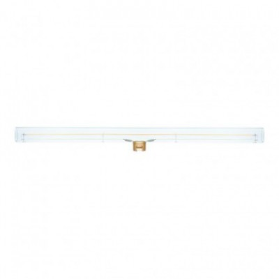 Lampadina LED lineare trasparente S14d - lunghezza 500 mm 12W Dimmerabile 2200K - per Sistema S14