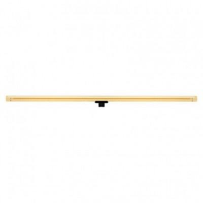 Lampadina LED lineare dorata S14d - lunghezza 1000 mm 13W Dimmerabile 2000K - per Sistema S14