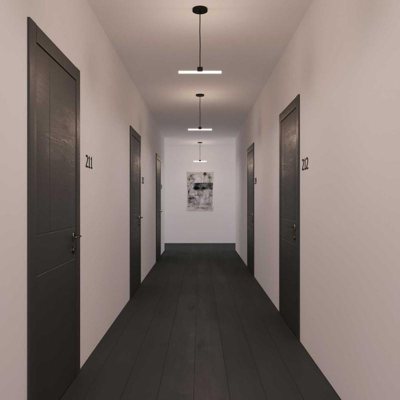 Lampadina LED lineare opale S14d - lunghezza 1000 mm 13W Dimmerabile 2200K - per Sistema S14
