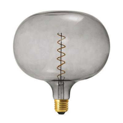 Lampadina LED XXL Cobble linea Pastel Grey filamento Spirale 5W E27 Dimmerabile 2150K