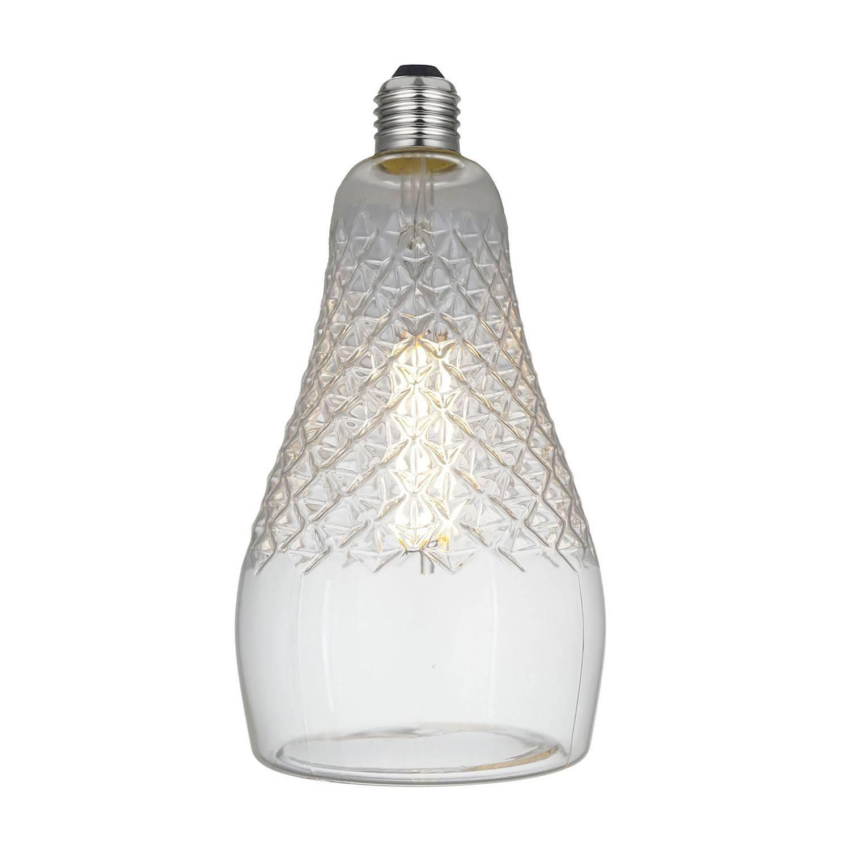 Lampadina LED Iris Clear Linea Crystal 6W E27 Dimmerabile 2700K