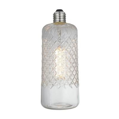Lampadina LED Demetra Clear Linea Crystal 6W E27 Dimmerabile 2700K