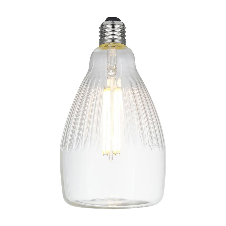 Lampadina LED Rea Clear Linea Crystal 6W E27 Dimmerabile 2700K