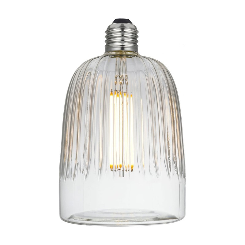 Lampadina LED Tiche Clear Linea Crystal 6W E27 Dimmerabile 2700K