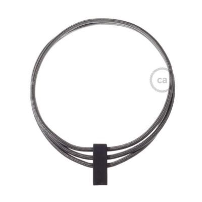 Collana Circles color: Grigio Scuro RM26.