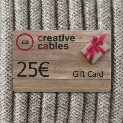 Gift card, Buono Regalo Creative-Cables 25 Euro