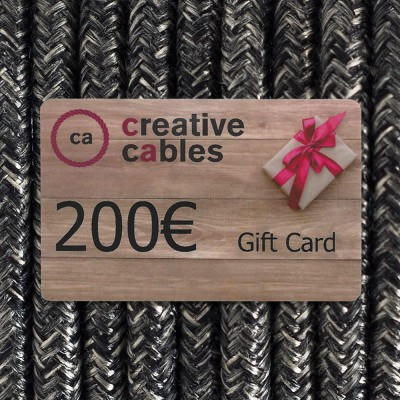 Gift card, Buono Regalo Creative-Cables 200 Euro
