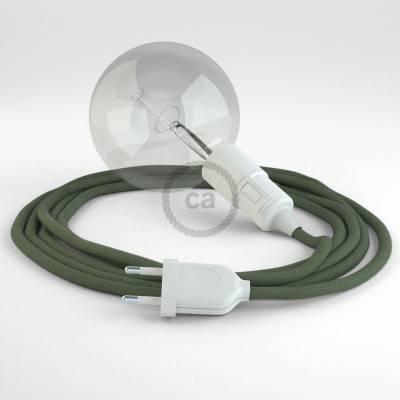 Configura il tuo Snake Cotone Grigio Verde RC63 e porta la luce dove vuoi tu.