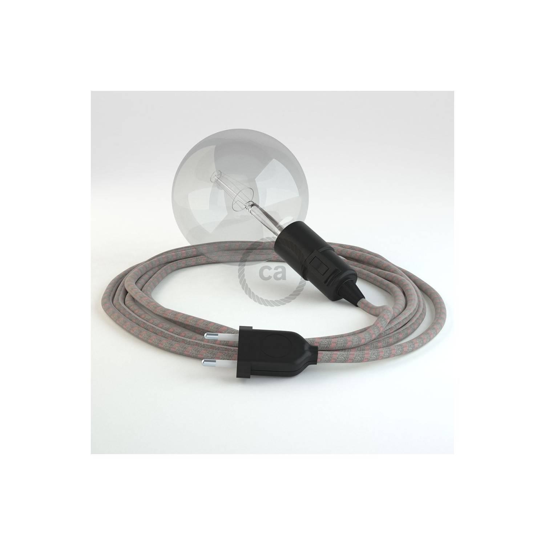 Configura il tuo Snake Stripes Rosa Antico RD51 e porta la luce dove vuoi tu.