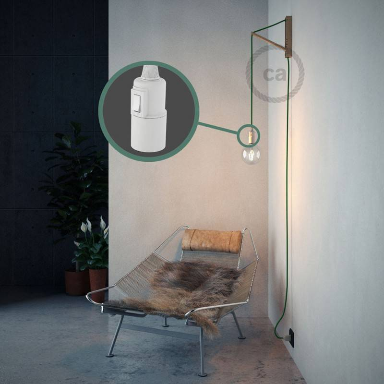 Configura il tuo Snake Effetto Seta Verde RM06 e porta la luce dove vuoi tu.
