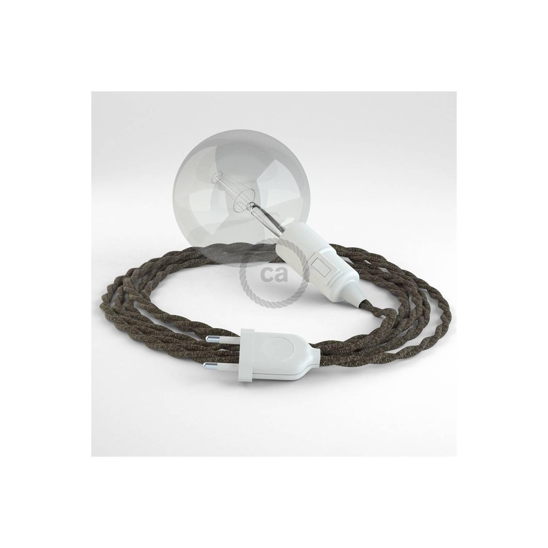 Configura il tuo Snake Lino Naturale Marrone TN04 e porta la luce dove vuoi tu.