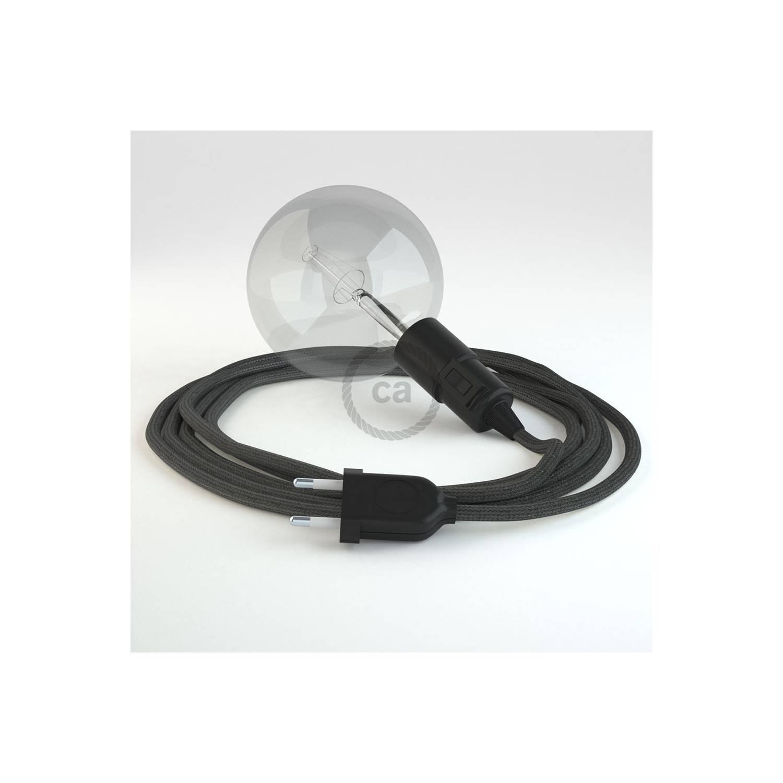 Configura il tuo Snake Effetto Seta Grigio Scuro RM26 e porta la luce dove vuoi tu.