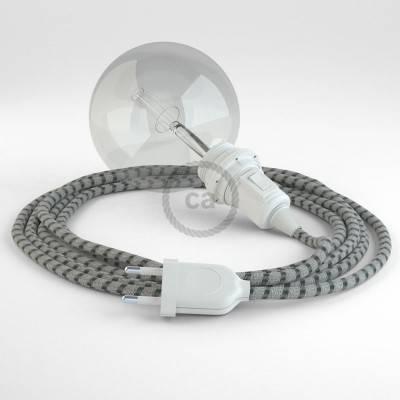 Configura il tuo Snake per paralume Stripes Antracite RD54 e porta la luce dove vuoi tu.